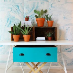 Shoreline wallpaper - Poppytalk collection