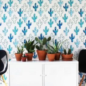 Poppytalk wallpaper collection, The Plains
