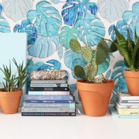Poppytalk wallpaper collection, Tropicale